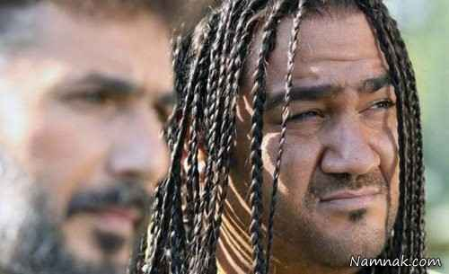 مهران غفوریان و سید جواد هاشمی در فیلم فوتبالی ها