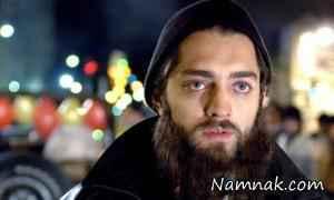 بهرام رادان با ریش در فیلم کارناوال مرگ