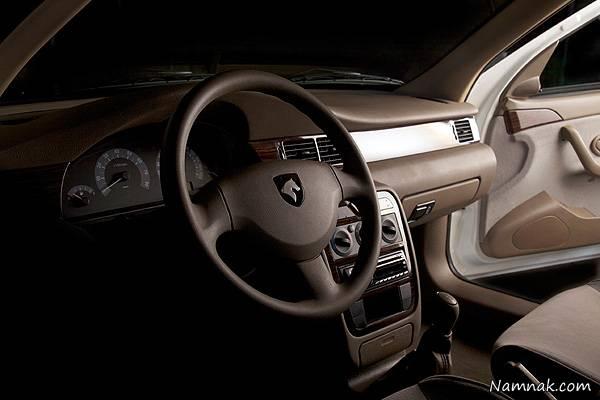 نمای داخلی سمند SE از نمای راننده