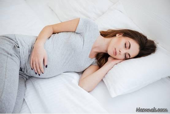 استراحت کافی در بارداری