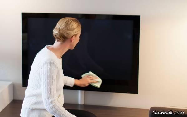 آموزش تمیز کردن تلویزیون