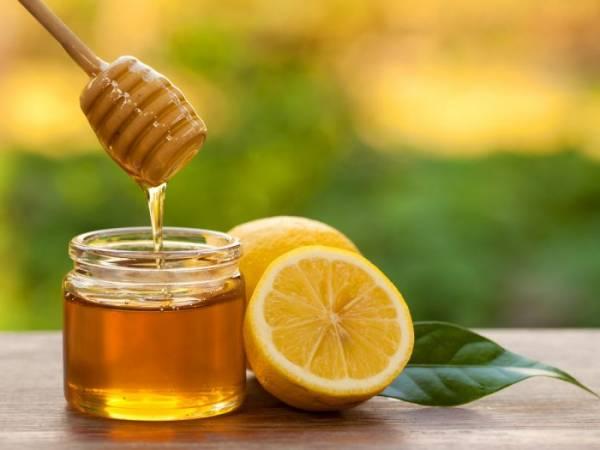 درمان خط اخم با عسل