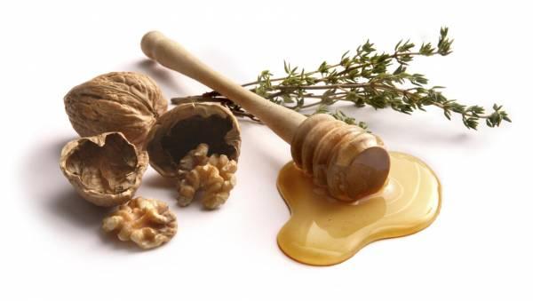 عسل و گردو برای تیروئید