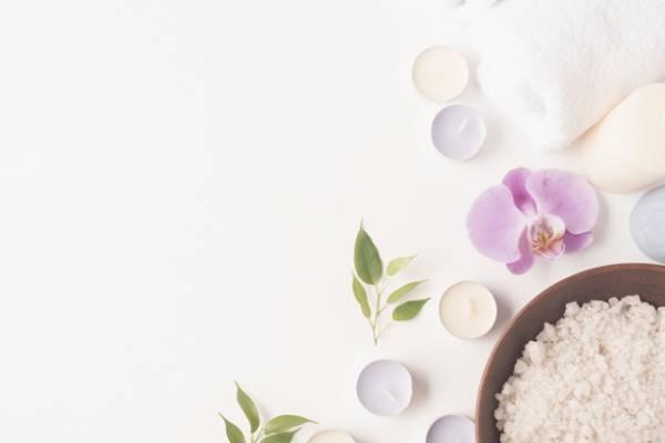 حمام نمک برای آماس دست و پا