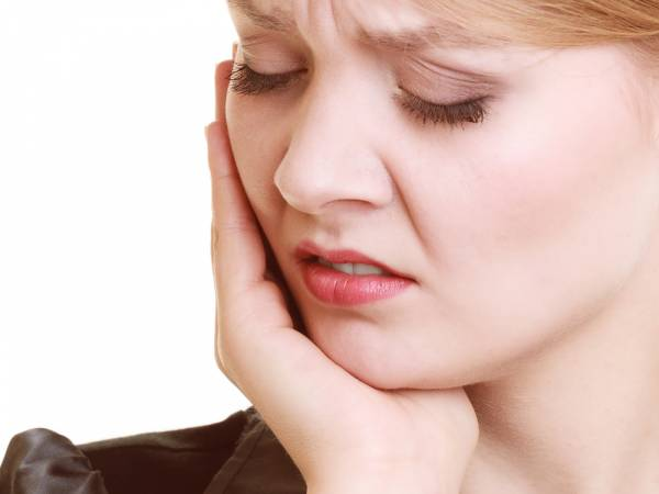 ماساژ برای فک درد