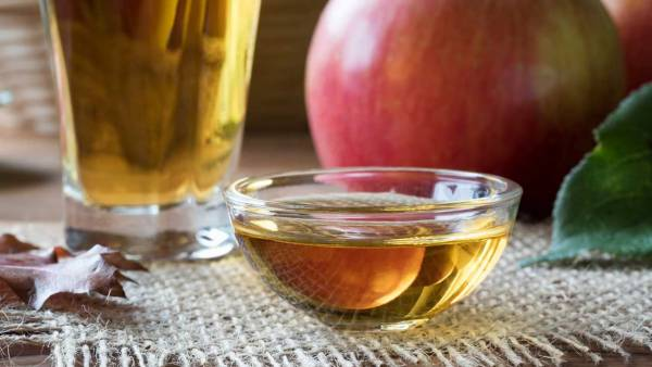 سرکه سیب برای عفونت