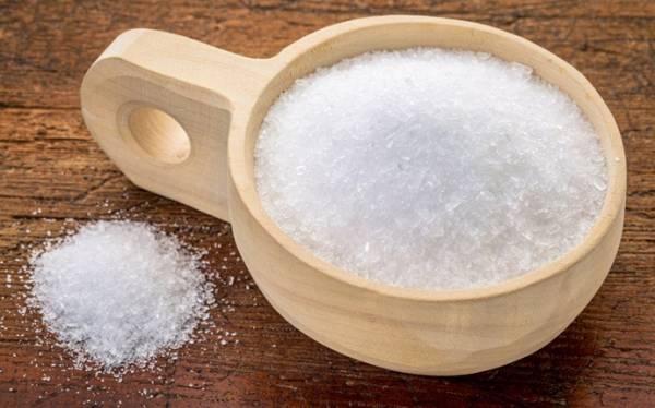 ترکیب سرکه سیب و نمک