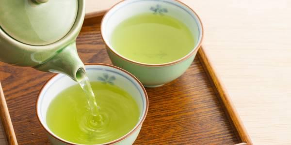 چای سبز و لیمو برای پوست