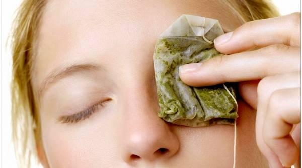 درمان چشم درد با چای