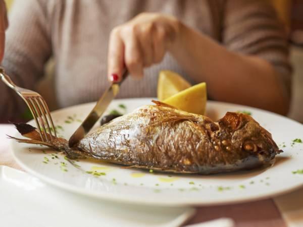 ماهی برای لاغری