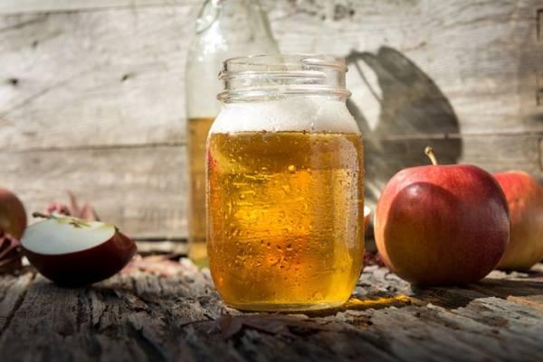 صاف کردن مو با سرکه سیب