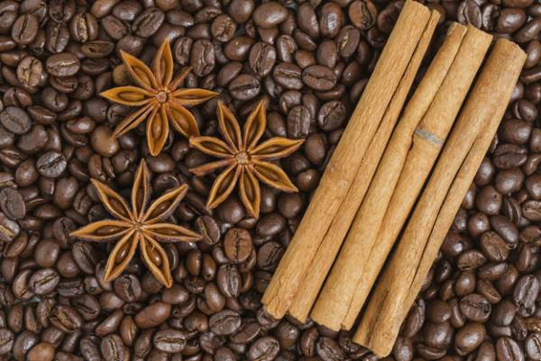 اسکراب قهوه و دارچین