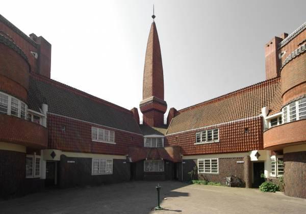 معماری آمستردام