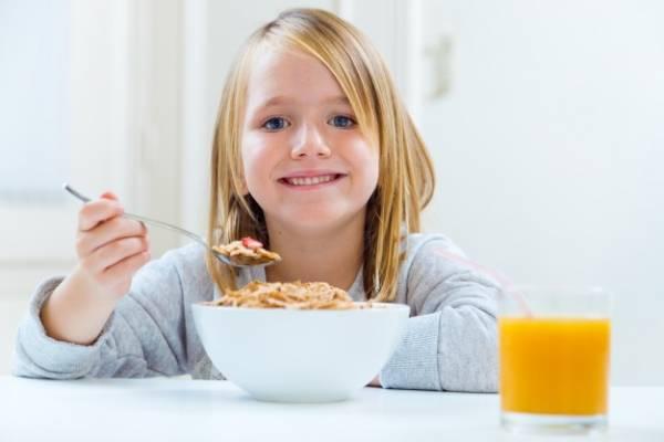 صبحانه خوردن بچه ها