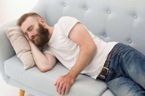 خوابیدن بعد غذا
