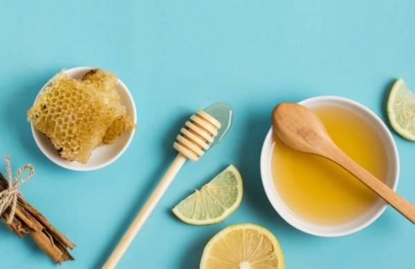 ماسک لیمو عسل