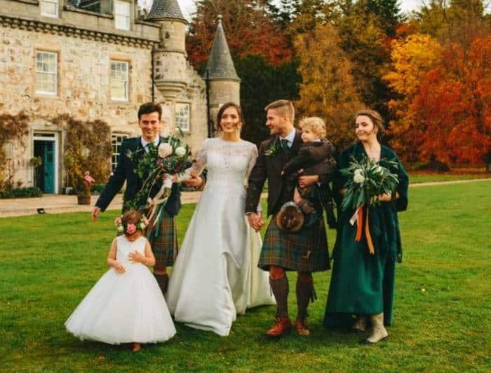 عروسی اسکاتلندی