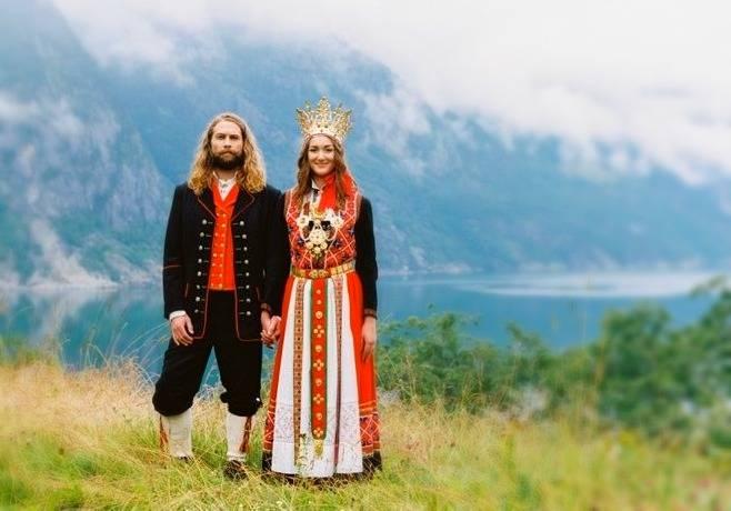 عروسی نروژی