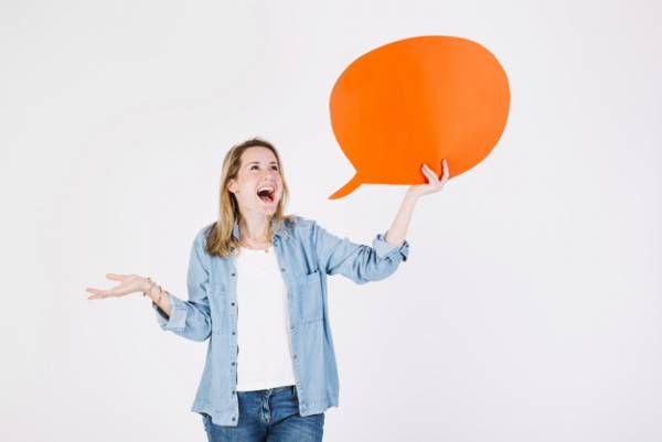 مسلط حرف زدن