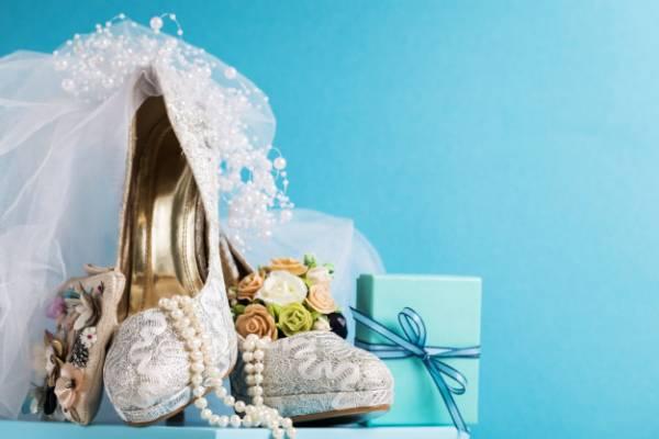 کفش مناسب عروس