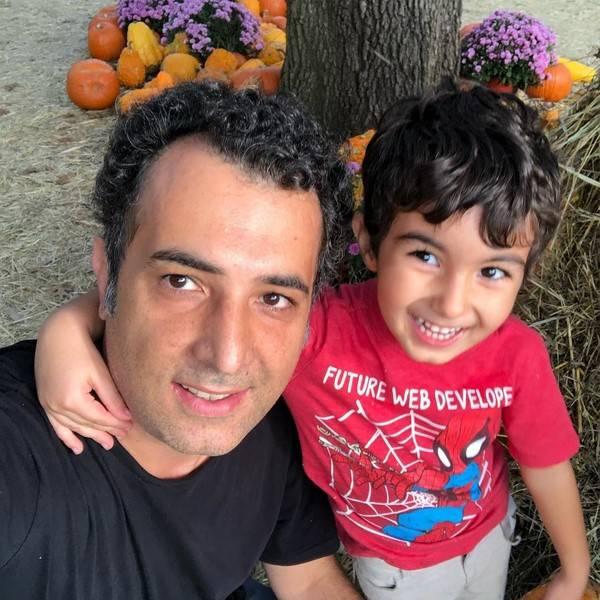 هاتف علیمردانی و پسرش