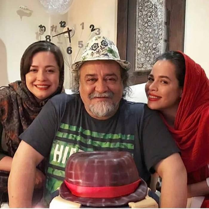 محمدرضا شریفی نیا و دخترانش مهراوه و ملیکا +تصاویر