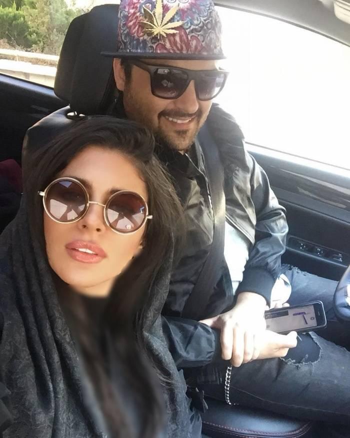 مهدی سلوکی و همسرش