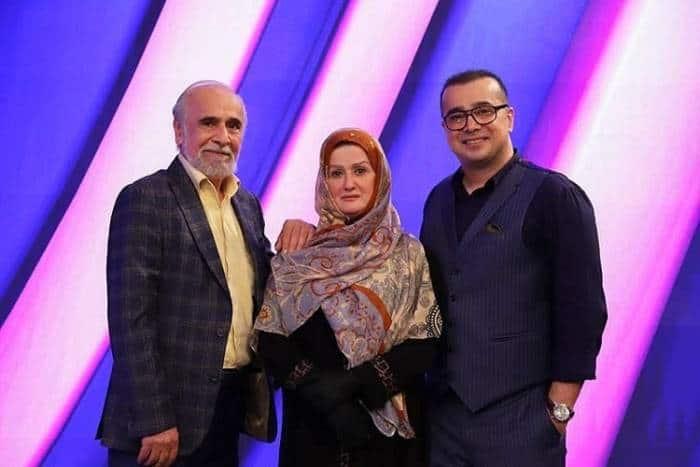 سعید امیرسلیمانی و خانواده اش