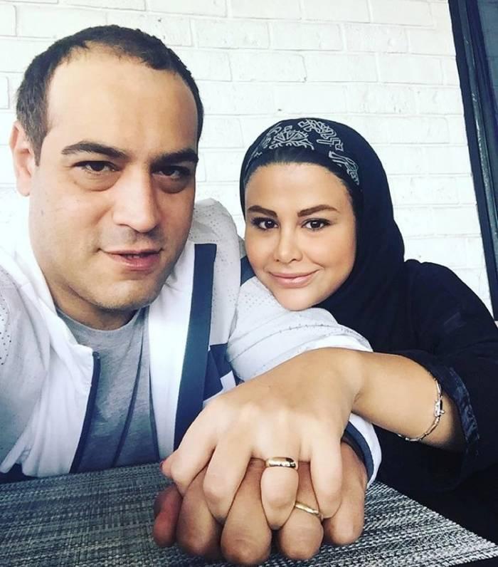یاسمینا باهر و همسرش