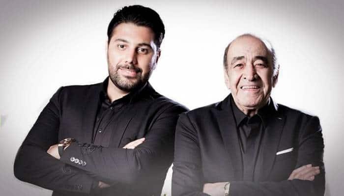 حسین خواجه امیری و پسرش