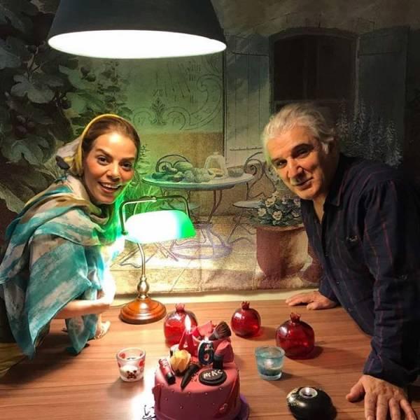 مهدی هاشمی و همسرش