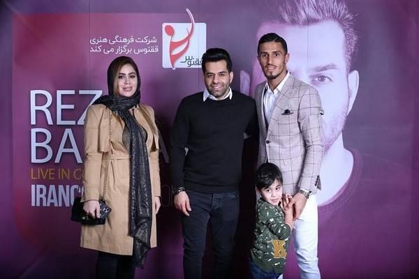 رضا بهرام و علی علیپور