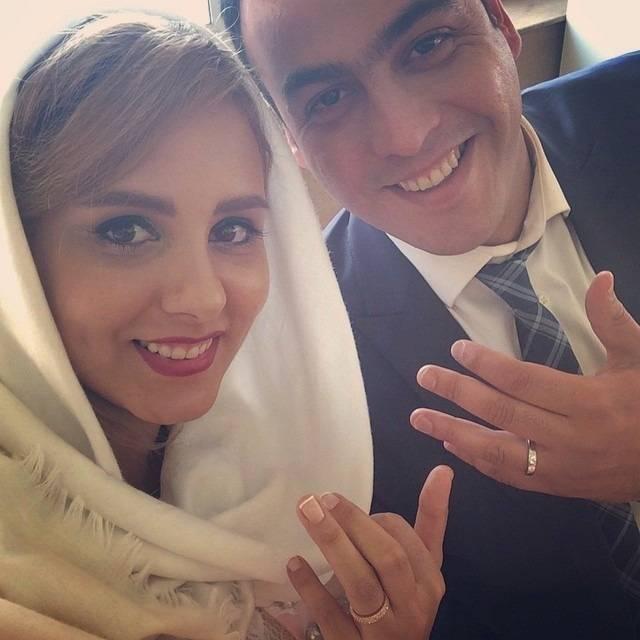 المیرا عبدی و همسرش