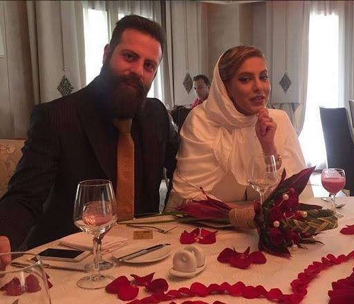 شیما محمدی و همسرش