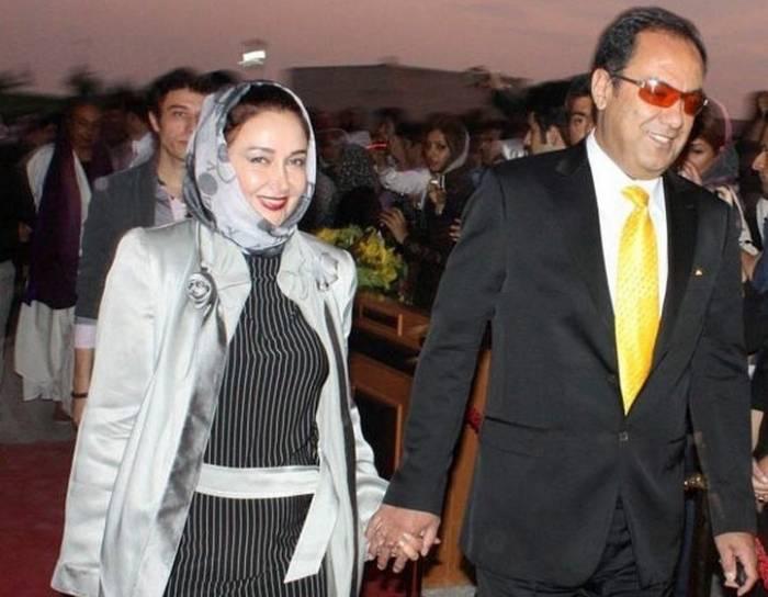 کتایون ریاحی و مسعود بهبهانی