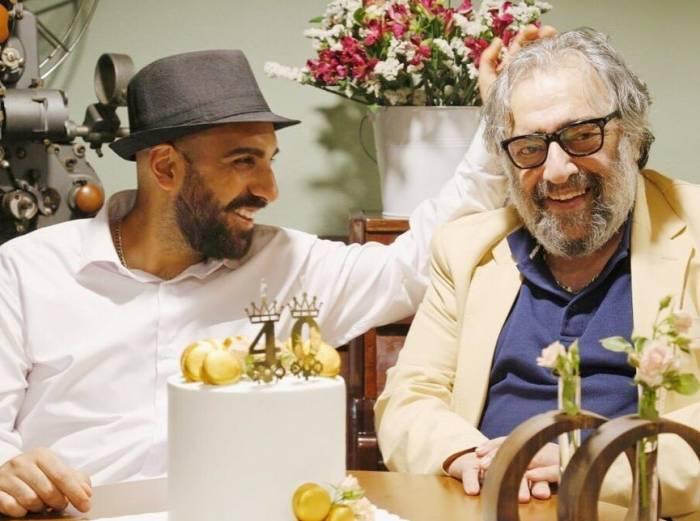 مسعود کیمیایی و پسرش کارگردان