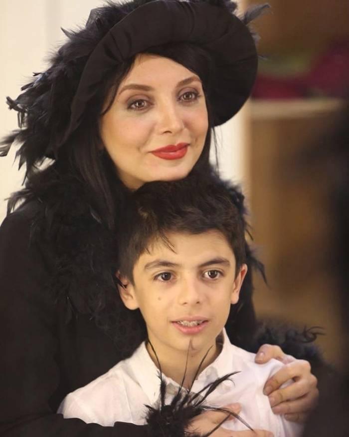 رویا میرعلمی و پسرش