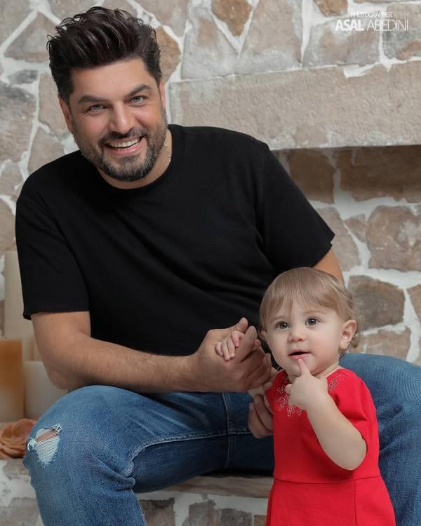 سام درخشانی و دخترش