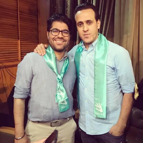 حامد همایون و علی کریمی