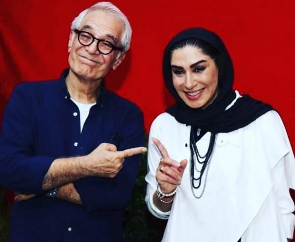 نسیم ادبی و محمود کلاری