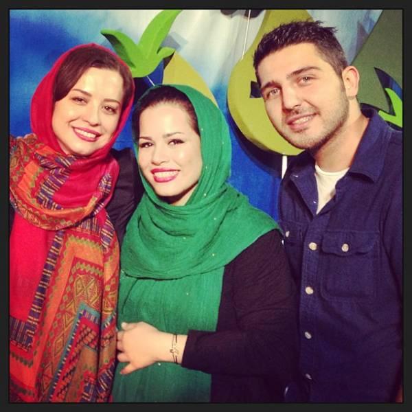 محمدرضا غفاری و خواهران شریفی نیا