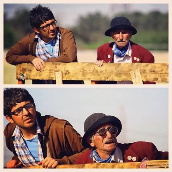 محمدرضا غفاری و باقر صحرارودی