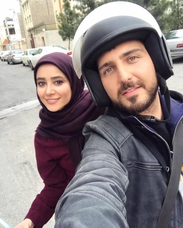 محمدرضا غفاری و الناز حبیبی