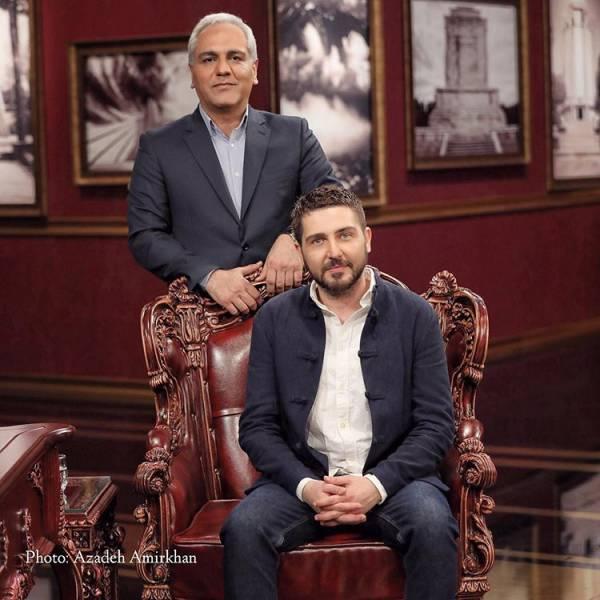محمدرضا غفاری و مهران مدیری