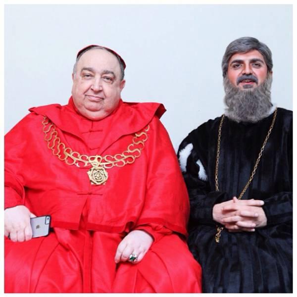 علیرضا آرا و بهمن فرمان آرا