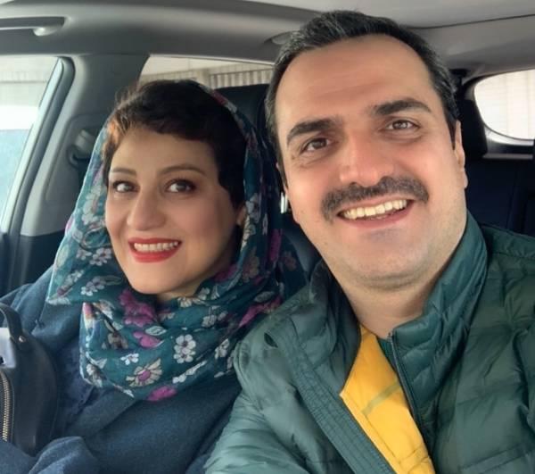 علیرضا آرا و همسرش