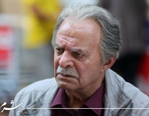 سیروس گرجستانی در سریال شرم