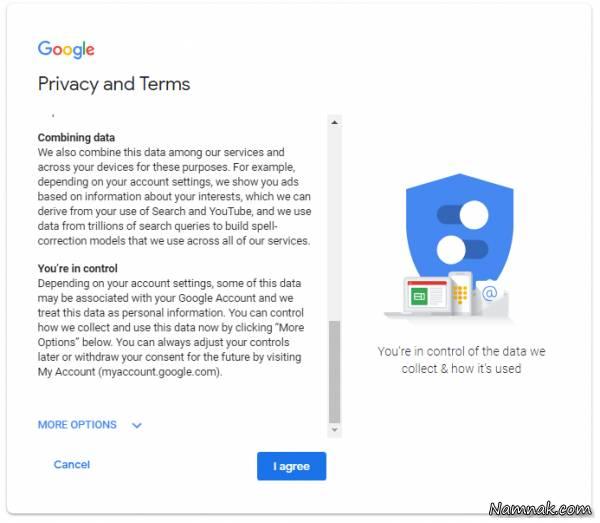 آموزش قدم به قدم ساخت gmail