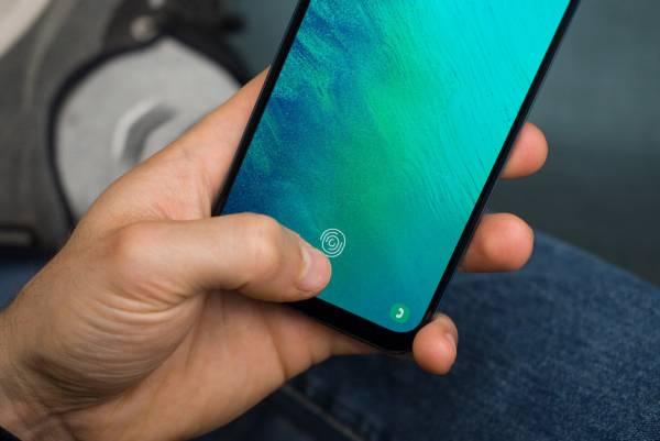 حسگر اثر انگشت زیر صفحه نمایش