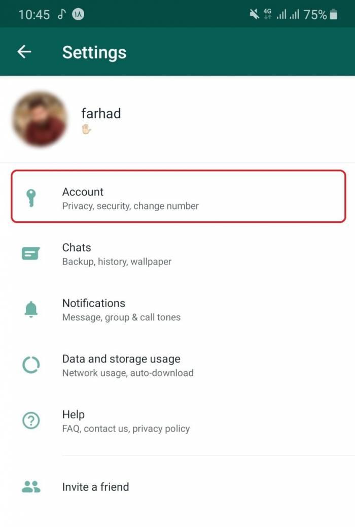 امنیت واتساپ